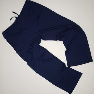 Cold Water Creek Blue Jersey Pants Size 18